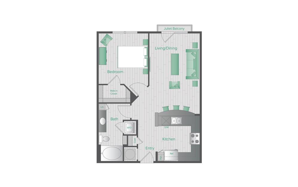 Midtown Green B1 Floorplan
