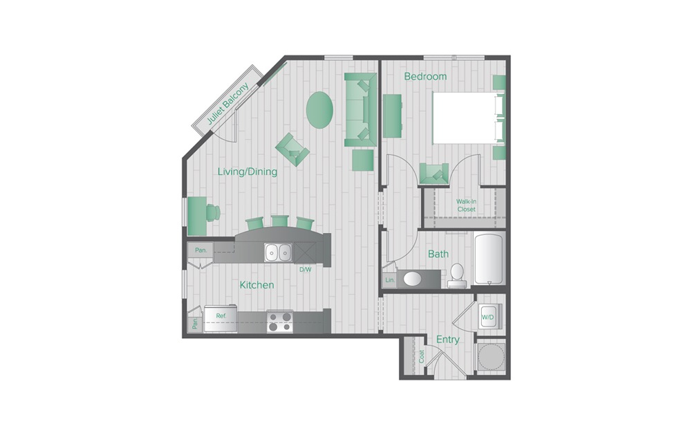 Midtown Green B3 Floorplan