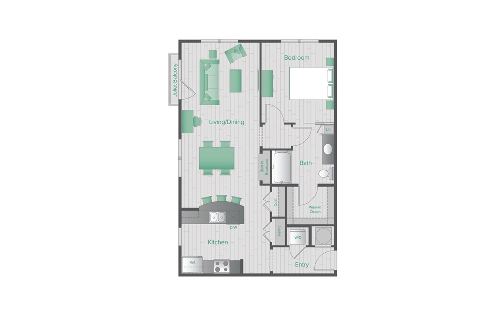 Midtown Green B4 Floorplan