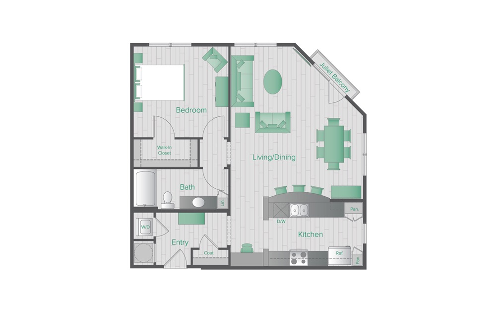 Midtown Green B5 Floorplan