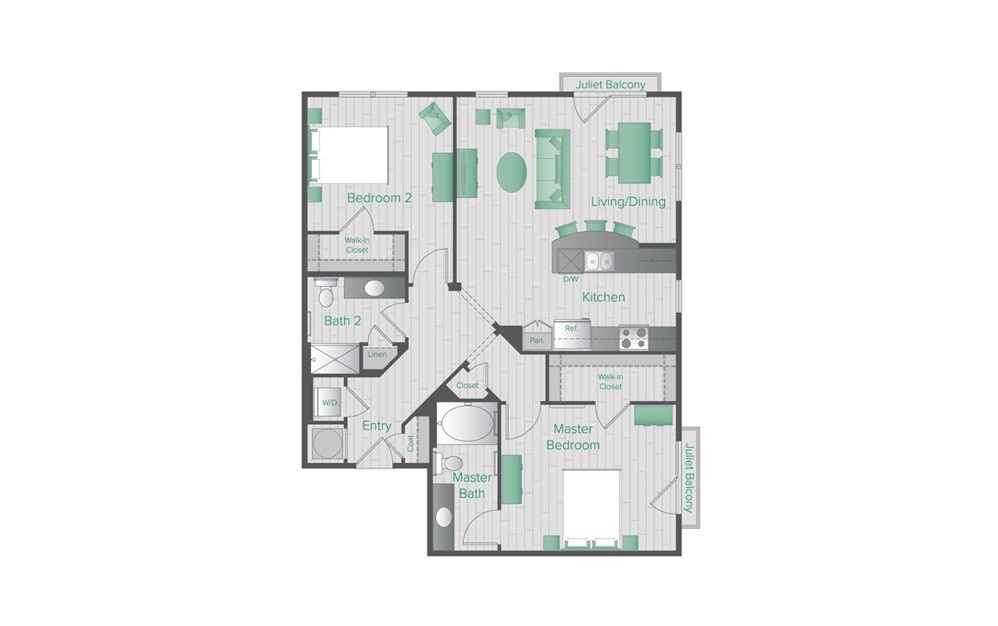 Midtown Green C3 Floorplan